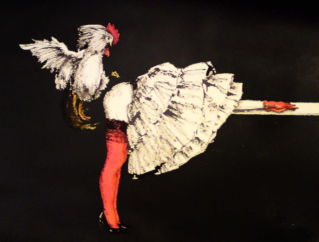 Leda und der Hahn