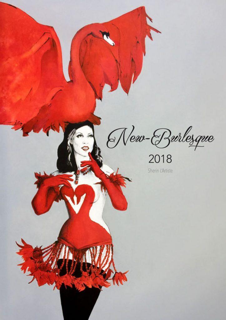 Burlesque Art Calendar 2018
